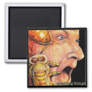 "OBA magnet, ""creeping things"" album cover Magnet"