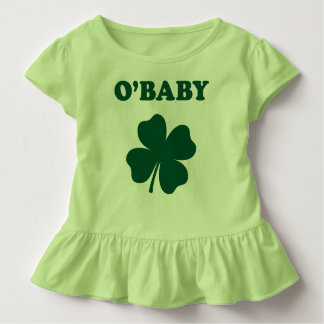 O'Baby Funny St. Patrick's Day Green Baby T-Shirt