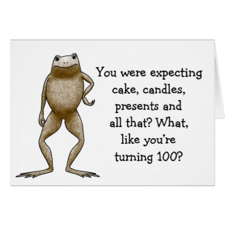 Obadiah Toad Birthday Card Template