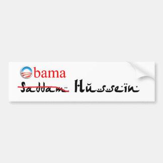 Obam Hussein Bumper Sticker