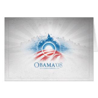 Obama'08 Greeting cards
