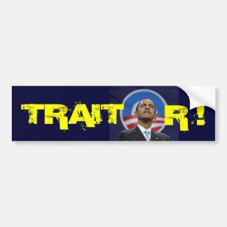obama1, TRAIT, R ! Bumper Sticker