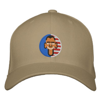 OBAMA2012 EMBROIDERED HAT