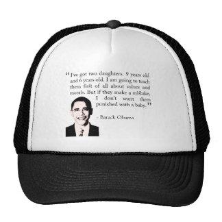 obama8 trucker hat