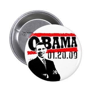 Obama 01.20.09 2 inch round button