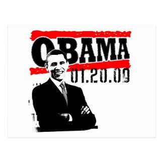 Obama 01 20 09 post card