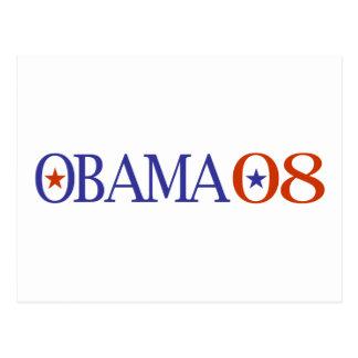 Obama 08 postcard