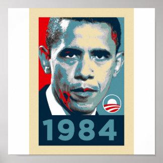 Obama 1984 poster