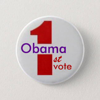 Obama 1st Vote Button