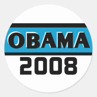 Obama 2008 Blue Stripe  Sticker