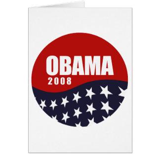 OBAMA 2008 GREETING CARDS
