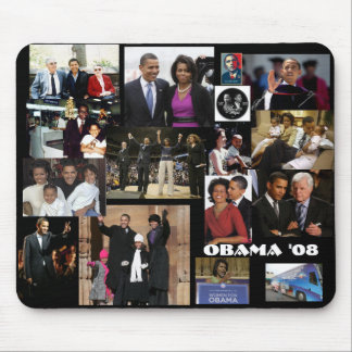 OBAMA 2008 - Customized Mouse Pad