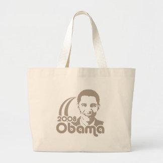 Obama 2008 jumbo tote bag