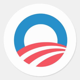 Obama 2008 O Sticker