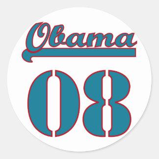 Obama 2008 stickers