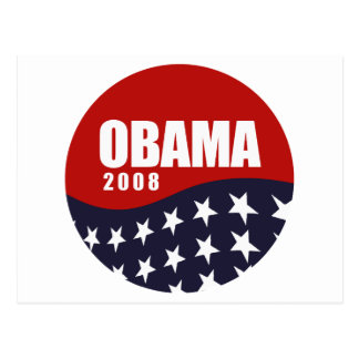 Obama 2008 T-shirt Post Card