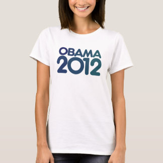 Obama 2012 blue design T-Shirt