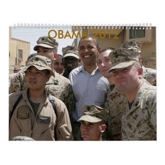 Obama 2012 calendar