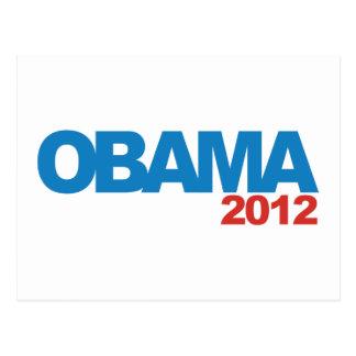 OBAMA 2012 Campaign Design Postcard