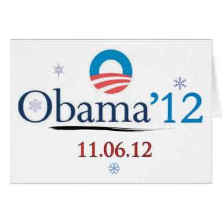 Obama 2012 Christmas Card