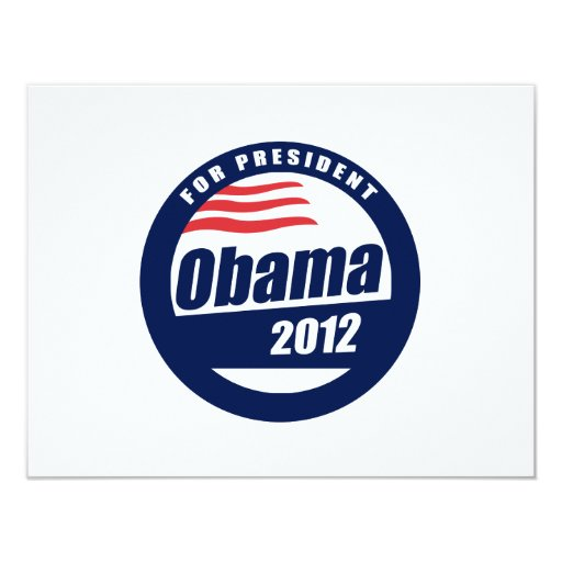 Obama 2012 custom invites