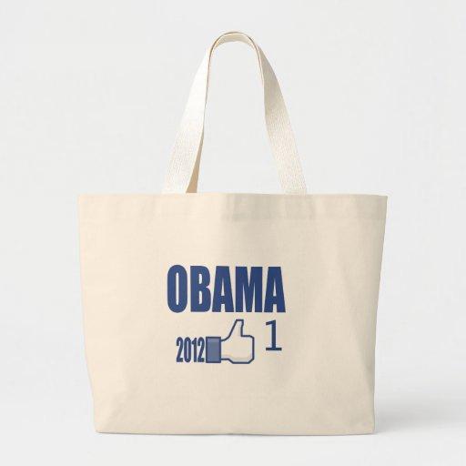 Obama 2012 Election Tote Bag