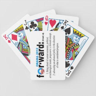 Obama 2012 forward Playing Cards