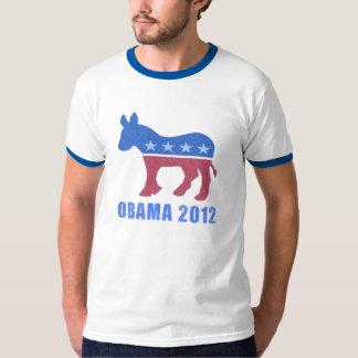 Obama 2012 Mens Ringer Shirt