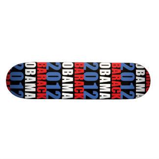 Obama 2012 skateboards personnalisés