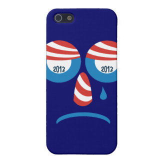 Obama 2012 Sad Face Covers For iPhone 5