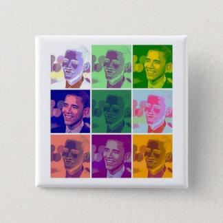 obama 2 inch square button