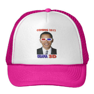 Obama 3D Casquettes De Camionneur