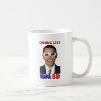 Obama 3D Mug Blanc