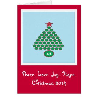 Obama 44 2014 Christmas Card