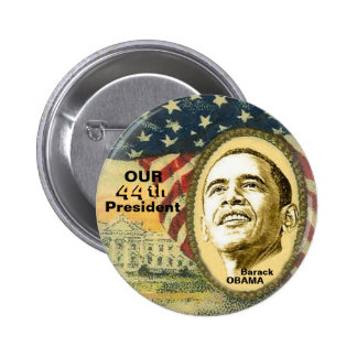 Obama 44 2 inch round button
