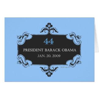 Obama 44 Greeting Card