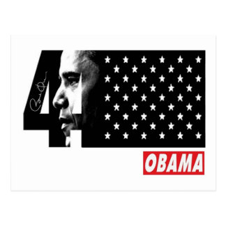 OBAMA 44TH President Signature Editions Postcard