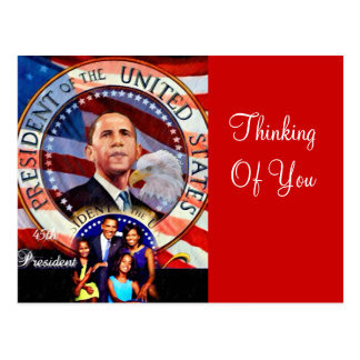 Obama,45th President of The United States_ Postcard