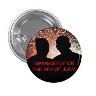 Obama 4th of July Pin