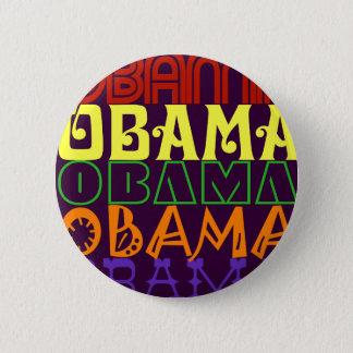 Obama 5 2 inch round button