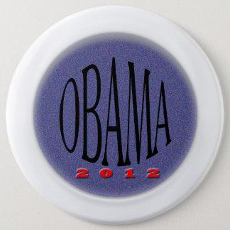 Obama 6 Inch Round Button