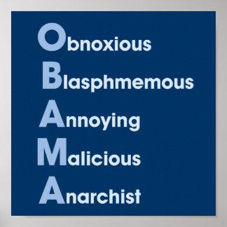 Obama-Acronym Poster