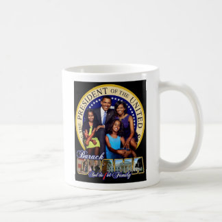 Obama and Family Coffee Mug