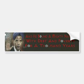 Obama Anti-Christ Bumper Sticker