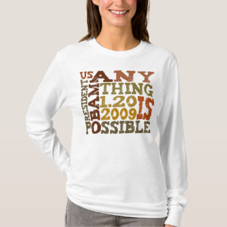 OBAMA Anything is Possible - t-shirt