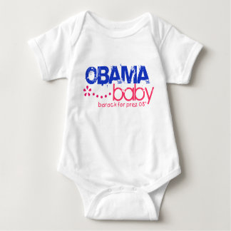 Obama Baby - Barack For Prez 08 - Customized Baby Bodysuit