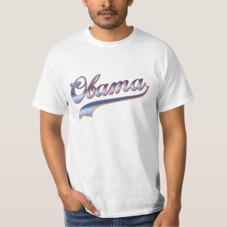 Obama Baseball Style Swoosh Tees Gifts