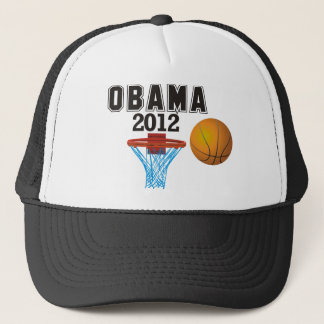 obama basketball 2012 trucker hat