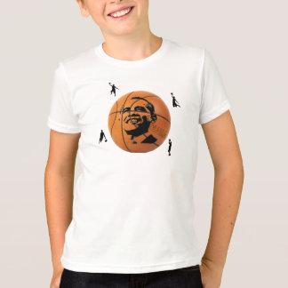 Obama Basketball Kid's Shirt