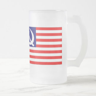 Obama-Biden2008 Frosty Frosted Glass Beer Mug
